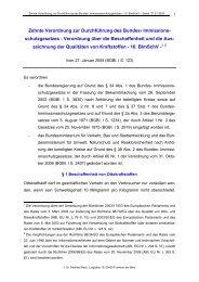 Zehnte Verordnung zur Durchführung des Bundes- Immissions ...