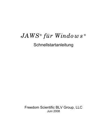 JAWS® für Windows®