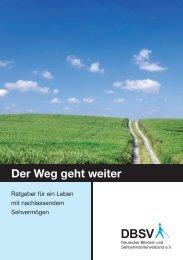DBSV: Der Weg geht weiter. Der Ratgeber für ein Leben mit ... - Adobe