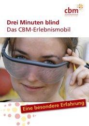 Drei Minuten blind Das CBM-Erlebnismobil