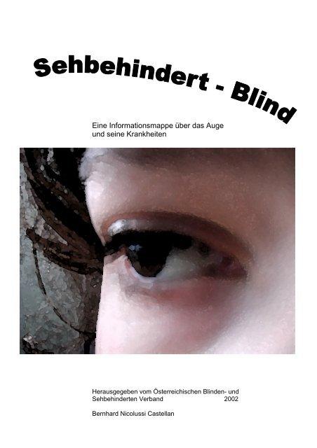 Auge aussehen blindes Augen