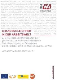 Chancengleichheit in der Arbeitswelt, 2008 (pdf, 315 kb