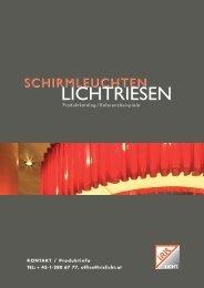 SCHIRMLEUCHTEN LICHTRIESEN - Iris Licht