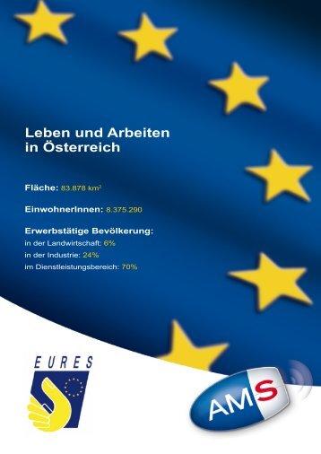 Leben und Arbeiten in Österreich Fläche