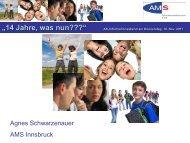 Lehre mit Matura (Modell seit 2008) - AK - Tirol