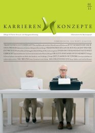 KARRieRen KOnZePte - Eblinger & Partner
