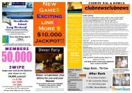 happy hours - Cooroy RSL