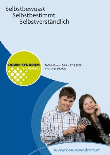 Programm Down-Syndrom-Tagung - St. Virgil Salzburg