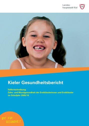 Kieler Gesundheitsbericht - Landeshauptstadt Kiel