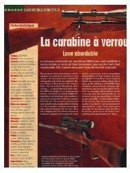 Calibre : 2re WSM. canon: Et cm. bronzé noir. crosse: pistolet, à ...