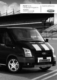 Auch das gehört zur Ford Transit-Serienausstattung - Motorline.cc