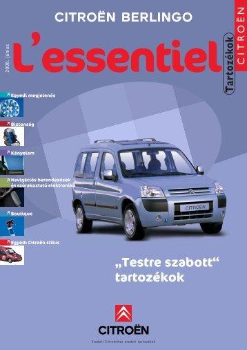 ek és szórakoztató elektronika Boutique Egyedi Citroën stílus