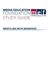 Wrestling With Manhood - Media Education Foundation