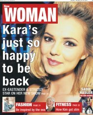 Kara's just so happy to be back - Newsquest Media Group
