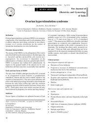 Ovarian hyperstimulation syndrome - medIND