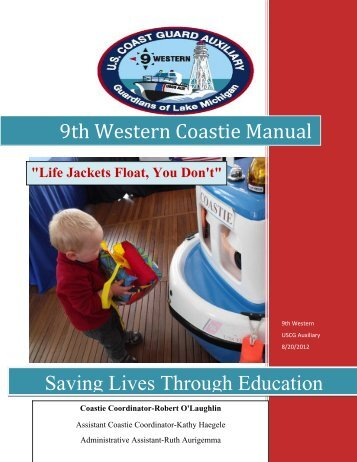 9th Western Coastie Manual Saving Lives Through Education