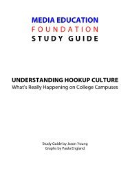 Understanding Hookup Culture - Study Guide - Media Education ...
