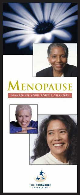Menopause - The Hormone Health Network