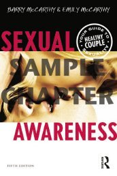 Sexual Awareness: Your Guide to Healthy Couple ... - Routledge