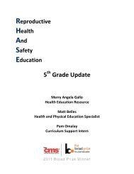 RHASE Feb 2012 - Charlotte-Mecklenburg Schools