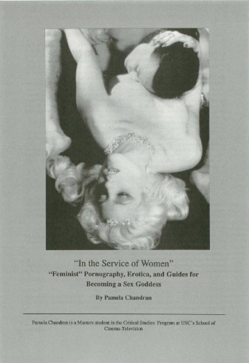 """In the Service of Women"" - USC School of Cinematic Arts"