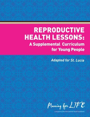 reproductive health lessons - International Youth Foundation