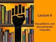 Lecture 6 - Andoscia Sociology