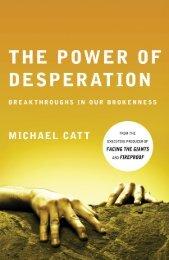 The Power of Desperation By Michael Catt - Dr. David Jeremiah