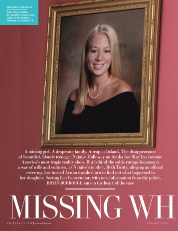 Missing White Female - Bryan Burrough