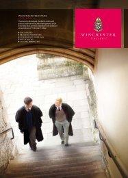 AnnuAL rePOrt 2011 - Winchester College