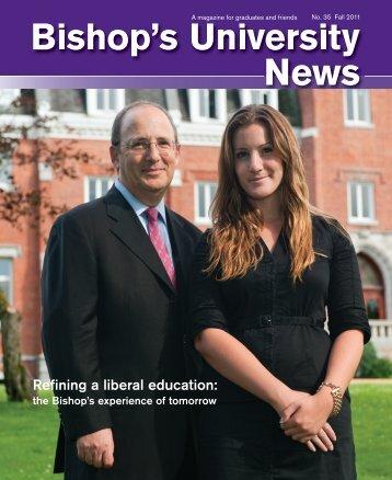 Fall 2011 - Université Bishop's