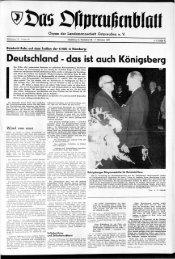 Deutschland - das ist auch Königsberg - Archiv Preussische ...