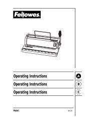 WB 100 for PDF - Fellowes