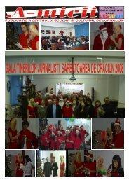 A-micii nr.4 2008 luna decembrie - Centrul Scolar si Cultural de ...