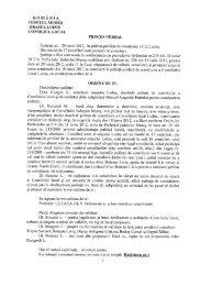 Proces verbal de constituire C.L.Luduş din 29.06 - Primăria oraşului ...