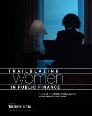 Trailblazing Women in Public Finance - The Bond Buyer