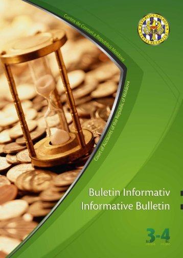 Buletin 3_4-2010 web.pdf - Curtea de Conturi a Republicii Moldova