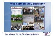 Beispiel - VBio