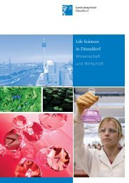 Life Sciences in Düsseldorf - BioRiver