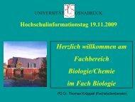 HIT-WS 09-10 Krüppel.pdf - Fachbereich 5 Biologie - Universität ...