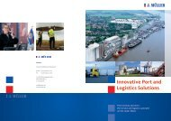 Innovative Port and Logistics Solutions - bei J. MÜLLER!