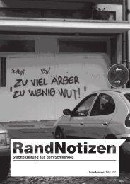 Stadtteilzeitung aus dem Schillerkiez - Nachrichten aus Nord ...