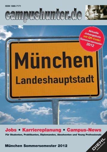 Ausgabe München Sommersemester 2012 - campushunter.de