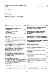 Plenarprotokoll der 73. Sitzung - Abgeordnetenhaus von Berlin