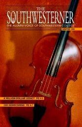 Southwesterner: Winter 99 pg 1 - Southwestern College