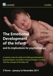 The Emotional Development of the Infant - Confer - UK.com
