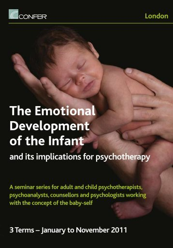 The Emotional Development of the Infant - Confer - UK.com