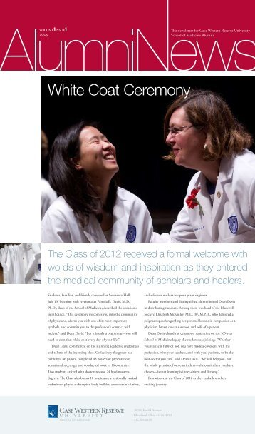 student profile - Case Western Reserve University School of Medicine