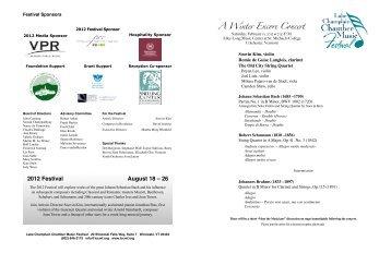 02.11 Elley-Long Program 11x17 - Lake Champlain Chamber Music ...