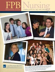 REUNION ISSUE A Publication of The Frances Payne Bolton School ...